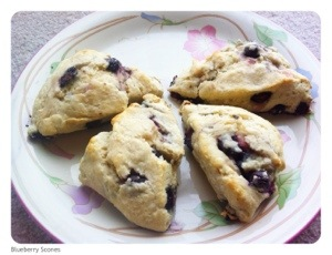 Blueberry Scones | Easy Blueberry Scones | Eggles Blueberry Scones